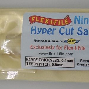 Ninja Hyper Cut Saw Plastic ABS Resin Wood Regular Straight Cut AL0163