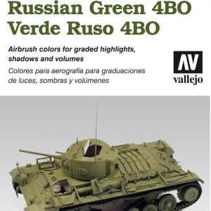 Vallejo AFV Armour Set Russian Green 4BO 78403Vallejo AFV Armour Set Russian Green 4BO 78403