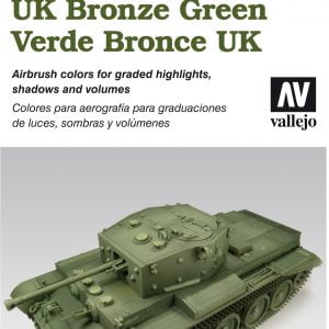 Vallejo AFV Painting System UK Bronze Green 78407