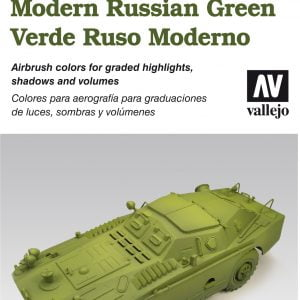 Vallejo AFV Painting System Modern Russian Green 78408
