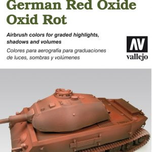 Vallejo AFV Painting System German Red Oxide Paint Set 78411
