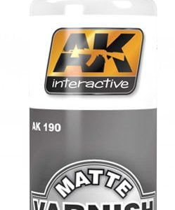AK Interactive Acrylic MATTE VARNISH 60ml AKI 190
