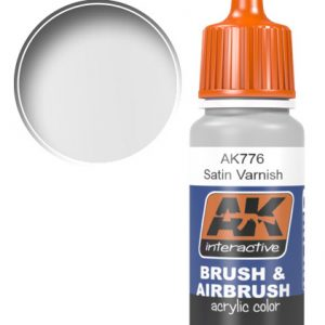 AK Interactive Acrylic SATIN VARNISH 17ml AKI 776