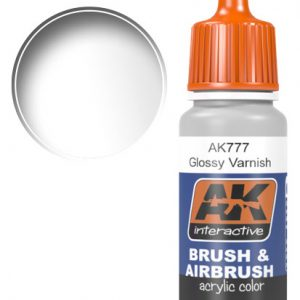 AK Interactive Acrylic GLOSSY VARNISH 17ml AKI 777