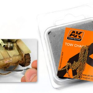 AK Interactive RUSTY TOW CHAIN MEDIUM AKI 230