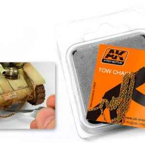 AK Interactive RUSTY TOW CHAIN BIG AKI 231