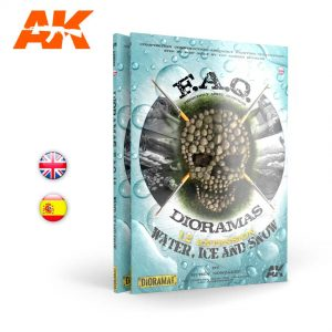 AK Interactive DIORAMAS FAQ 1-2 Extension Water ice and snow AKI 8050