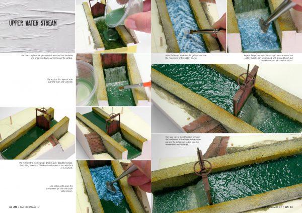 AK Interactive DIORAMAS FAQ 1-2 Extension Water ice and snow AKI 8050