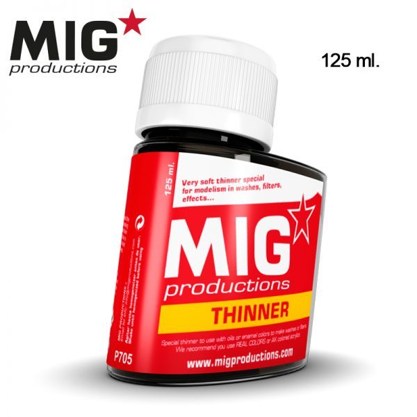 MIG Productions Thinner for Washes 125ml MIG P705