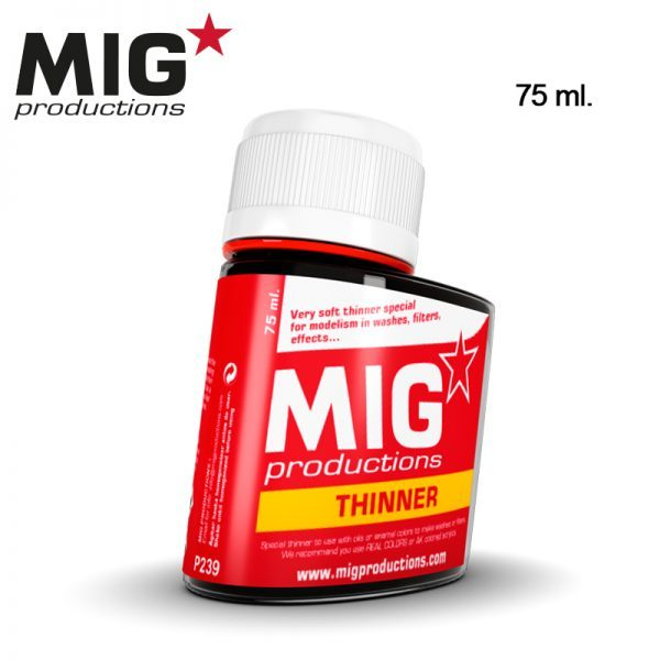 MIG Productions Thinner for Washes 75ml MIG P239