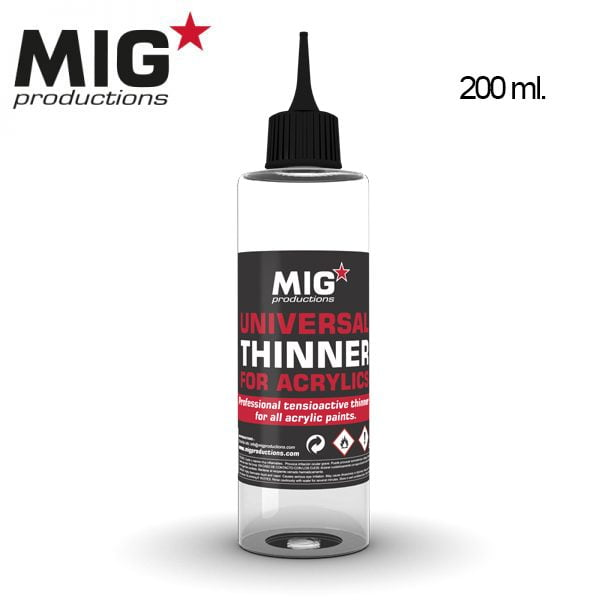 MIG Productions Universal Thinner for Acrylics MIG P263