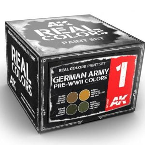 AK Interactive German Army Pre-WWII Colors Set RCS001
