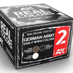 AK Interactive German Army Early WWII Colors Set RCS002
