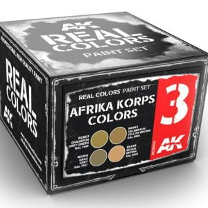 AK Interactive Afrika Korps Colors Set RCS003