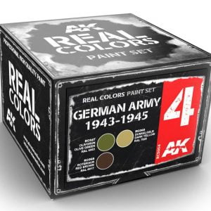 AK Interactive German Army 1943-1945 Colors Set RCS004