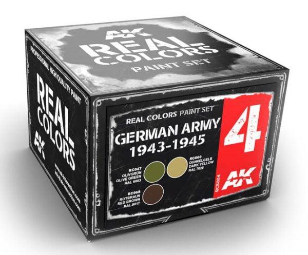 AK Interactive German Army 1943-1945 Colors Set RCS004