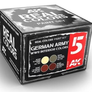 AK Interactive German Army WWII Interior Colors Set RCS005