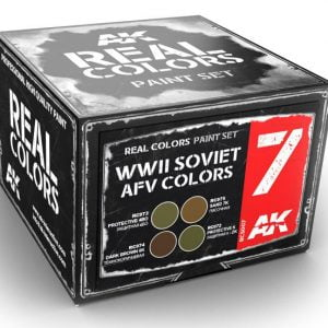 AK Interactive WWII Soviet AFV Colors Set RCS007