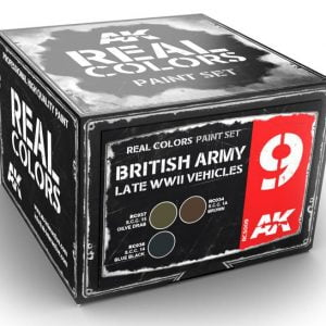 AK Interactive British Army Late WWII Vehicles Colors Set RCS009