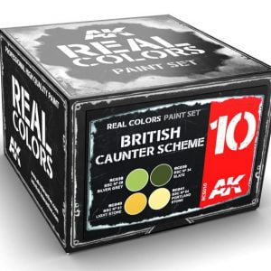 AK Interactive British Caunter Scheme Colors Set RCS010