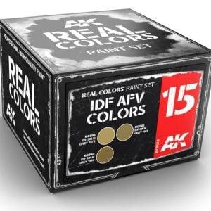 AK Interactive IDF AFV Colors Set RCS015