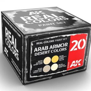 AK Interactive Arab Armor Desert Colors Set RCS020