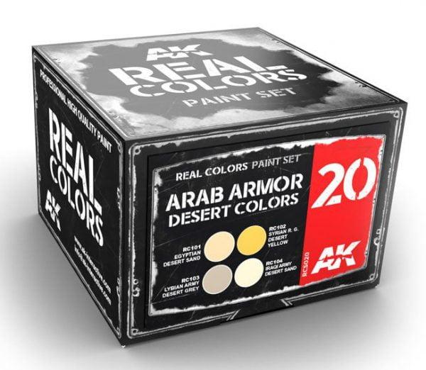 AK Interactive Arab Armor Desert Colors Set RCS020
