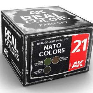 AK Interactive NATO Colors Set RCS021