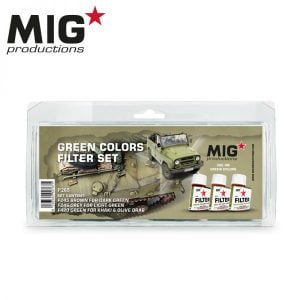 MIG Productions Green colors filter Set MIG P265