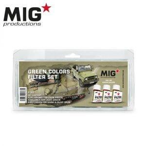 MIG Productions Green colors filter Set MIG P265