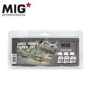 MIG Productions Grey Tones filter Set MIG P266