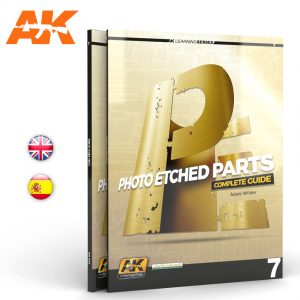 AK Interactive PHOTOETCHED PARTS Learning Series 07 AKI 244