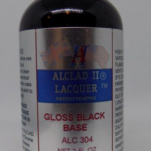 Alclad II Gloss Black Base 2 oz ALC 304