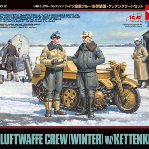 Tamiya 1/48 Luftwaffe Crew Winter 32412