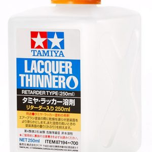 Tamiya Lacquer Thinner Retarder Type 250ml 87194