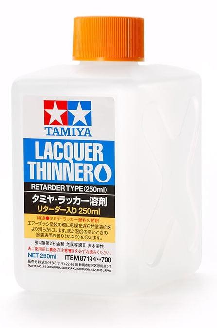 Tamiya Lacquer Thinner Retarder Type 250ml 87194