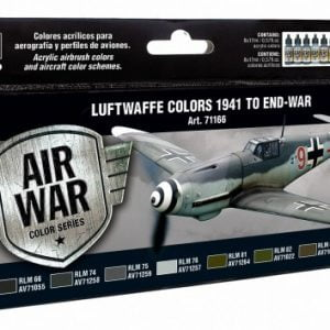 Vallejo Model Air Paint Set Luftwaffe Colours 1941 to End-War 71166