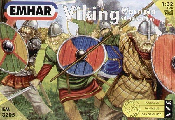 Emhar 9th-10th Century Viking Warriors Set of 12 EMH 3205