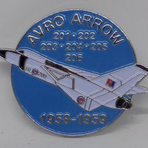Avro Arrow RL-206 60th Anniversary Lapel Pin