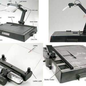 Tamiya Work Station With Magnifying Lens 74064