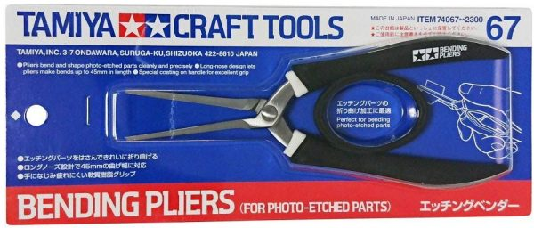 Tamiya Bending Pliers For Photo Etched Parts 74067