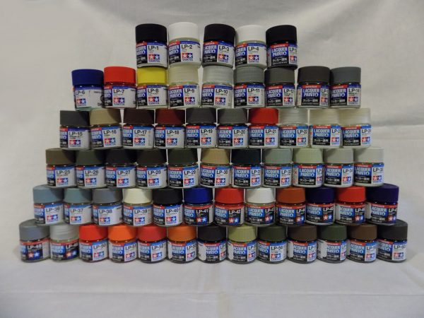 Full Set of Tamiya 66 LP Lacquer Paints