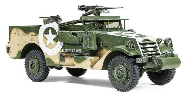 Tamiya M3A1 Scout Car Model Kit 35363