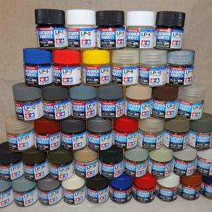Full Set of Tamiya LP Lacquer Paints