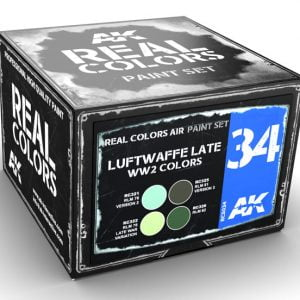 AK Interactive Luftwaffe Late WW2 Colors Paint Set RCS034