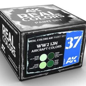 AK Interactive WW2 IJN Aircraft Colors Paint Set RCS037