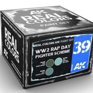 AK Interactive WW2 RAF Day Fighter Scheme Paint Set RCS039