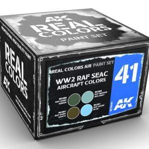 AK Interactive WW2 RAF SEAC Aircraft Colors Paint Set RCS041