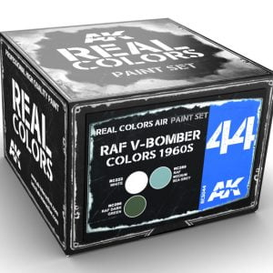 AK Interactive RAF V-Bomber Colors 1960s Paint Set RCS044