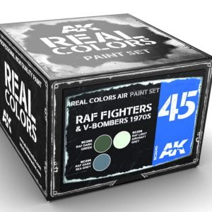 AK Interactive RAF Fighters and V-Bombers 1970s Paint Set RCS045